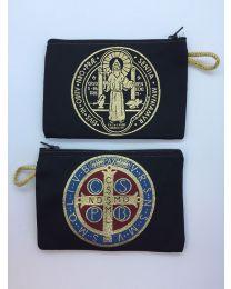 St. Benedict Kilim Rosary Bag