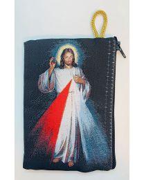 Divine Mercy Kilim Rosary Bag