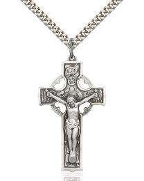 Celtic Crucifix Medal