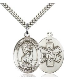 St. Christopher / EMT Medal