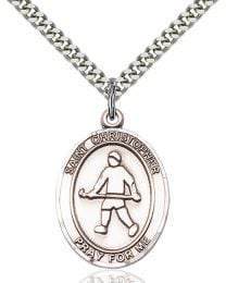 St. Christopher / Field Hockey Medal