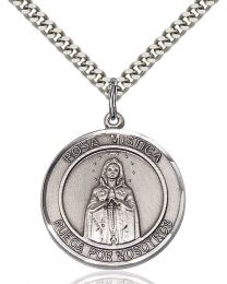 Our Lady Rosa Mystica Medal
