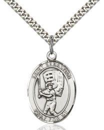 St. Sebastian / Baseball Medal