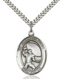 Guardian Angel/Basketball Medal