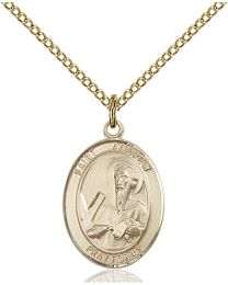 St. Andrew the Apostle 14kt Gold Filled Pendant