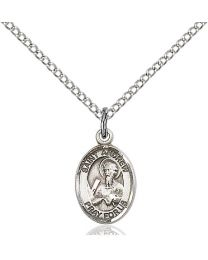St. Andrew the Apostle Sterling Silver Petite Charm