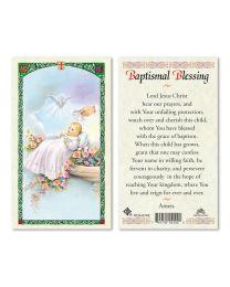Baptismal Blessing