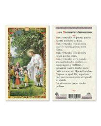 Jesús con niños - Las Bienaventuranzas
