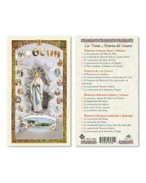 Nuestra Señora de Lourdes - Veinte Misterios del Rosario