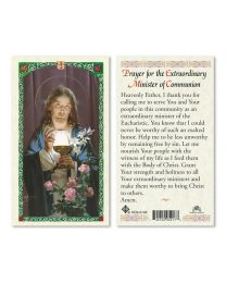 Jesus with Host - Prayer for the Minister of Communion