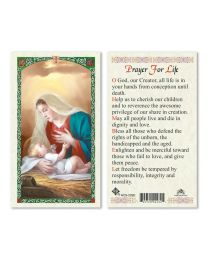 Mary with Child - Prayer for Life