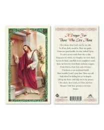 Jesus - Prayer for Those Who Live Alone