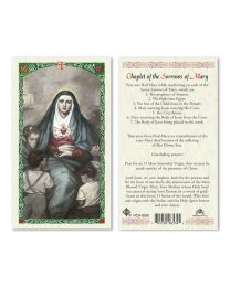 Chaplet to Our Lady of Sorrows