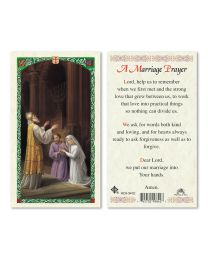 St. Joseph and Mary - Marriage Prayer