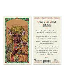 Prayer to Our Lady of Czestochowa