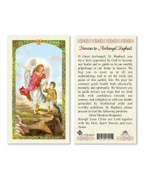 Novena to St. Raphael Archangel