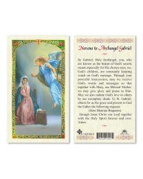 Novena to St. Gabriel Archangel