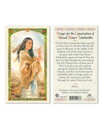Prayer to St. Kateri Tekawitha