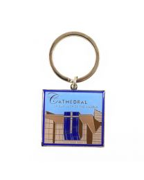 Our Lady of the Angels Lantern Keychain