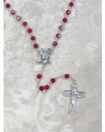 Crystal Holy Spirit Rosary