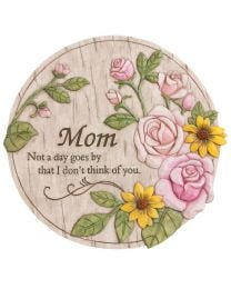"12"" Wishgiver's Memorial Garden Stone for Mom"