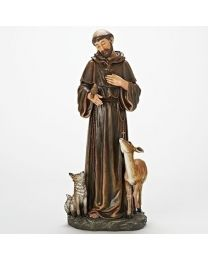 "18"" St. Francis Statue"