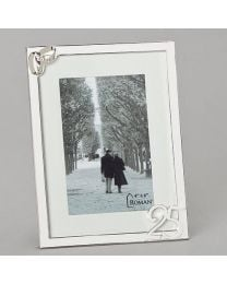 4x6 25th Anniversary Picture Frame