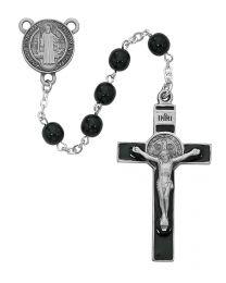 Black St. Benedict Rosary