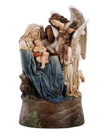 "9"" Song Of Angels Musical Statue"