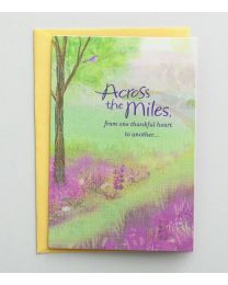 Across the Miles - Easter Greeting Card