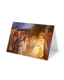 Adoration of the Christ Child Christmas Card Pack (25 Count)