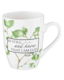 Be Still Ceramic Mug – Psalm 46:10