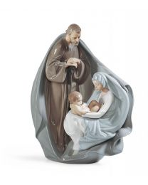 "11"" Birth of Jesus - Porcelain Statue"