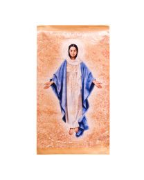 Blessed Mother Printed Tapestry - Large - Artist, John Nava