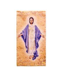 Blessed Mother Woven Tapestry - Artist, John Nava