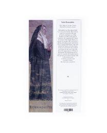 St. Bernadette Bookmark - Artist John Nava