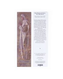St. Therese of Lisieux Bookmark - Artist John Nava