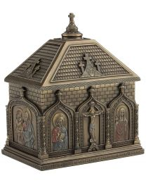 Cathedral Chapel Rosary Box