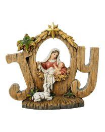 Christmas Joy Nativity Figurine