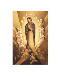 Our Lady of Guadalupe Poster -  Artist Lalo Garcia