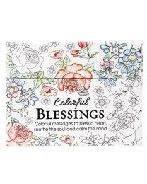 Colorful Blessings - Cards to Color