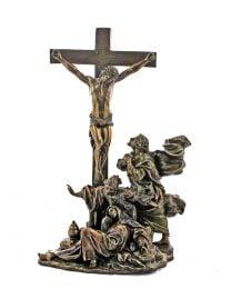 Crucifixion - Bronze Style