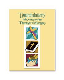 Deacon Ordination Anniversary Card