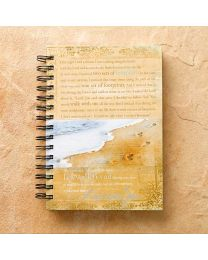 """Footprints"" Wirebound Journal"