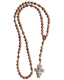 Jujube Wood Franciscan Rosary