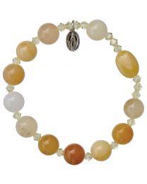 Genuine Jade Rosary Bracelet