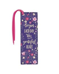Grateful Heart Imitation Leather Bookmark