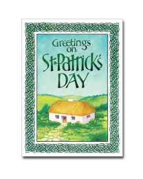 Greetings On St. Patrick's Day Card