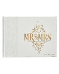 Mr. & Mrs. Guest Book