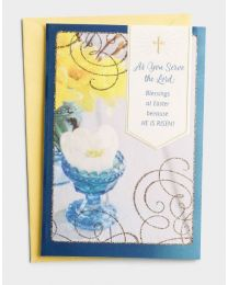 He is Risen - Easter Greeting Card